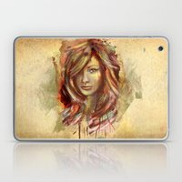 Olivia Wilde Digital Painting Portrait Laptop & iPad Skin