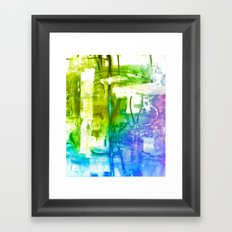 Purple Olive Framed Art Print