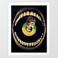 Art Print featuring M.Disorder by Citron Né