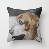 Tilly the wonderdog... Throw Pillow