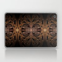 Steampunk Engine Abstract Fractal Art Laptop & iPad Skin