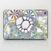 Sea Turtle Paisley  iPad Case