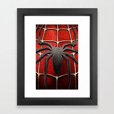 Spiderman Framed Art Print