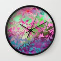 Earth Watercolor by Jacqueline Maldonado & Garima Dhawan Wall Clock