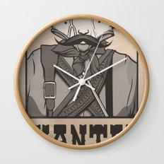 WANTED: SENOR UNDERPANTS Wall Clock
