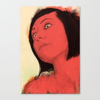 Quivver Canvas Print