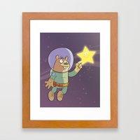 Star Shine Framed Art Print