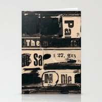 THE27RZ Stationery Cards