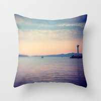 MORNING ABSTRACT 2 Throw Pillow