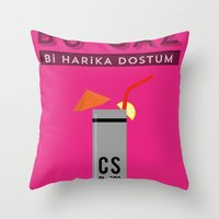 Harika Throw Pillow