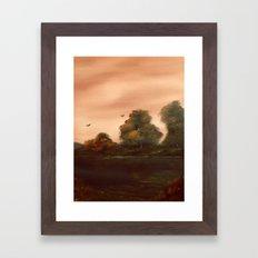 The Autumn Leaves Framed Art Print