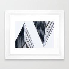 In the House. Framed Art Print