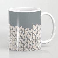 Half Knit Ombre Nat Mug
