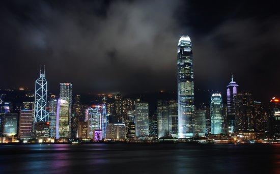Hong Kong Skyline Art Print