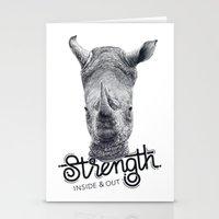 Rhino Strength Stationery Cards