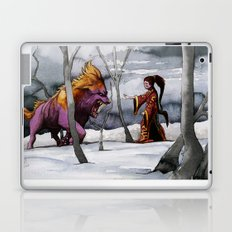 BEAST AND BEAUTIFUL Laptop & iPad Skin