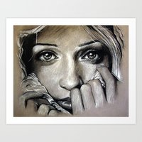 The Goodbye Girl (VIDEO IN DESCRIPTION!) Art Print