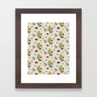 Woodland Forest Framed Art Print