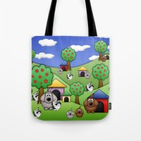 Billy, Bob & Fido.  Tote Bag