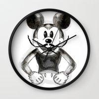 Hey Mickey Wall Clock