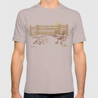 Cowbird Mens Fitted Tee Cinder SMALL