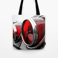 Impala Taillights Tote Bag