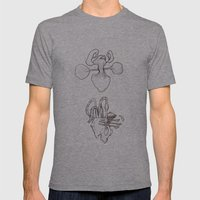 machinery No. 0004 Mens Fitted Tee Athletic Grey SMALL