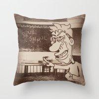 Skul Daze Throw Pillow