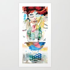 LA MACHINE #2 Art Print