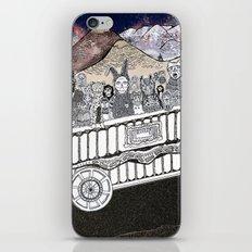 Animals on a Wagon iPhone & iPod Skin