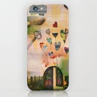 Hearts Door iPhone 6 Slim Case