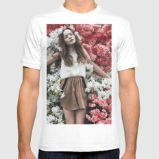 Emily in Reverie SMALL White Mens Fitted Tee
