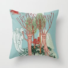 A Stick-Insects Dream Throw Pillow