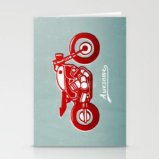 Vintage Bike Stationery Card