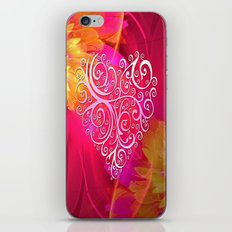 Ever More Heart iPhone & iPod Skin