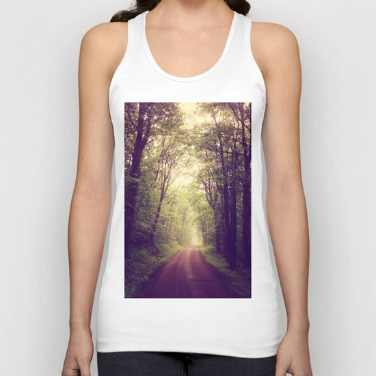 The Sound of Fog Coming Down Unisex Tank Top