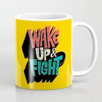 Wake Up and Fight Mug