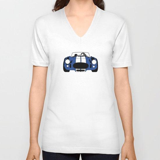 Shelby Cobra V-neck T-shirt