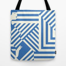 In The Line Tote Bag