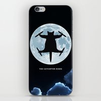 Catcopter Rises iPhone & iPod Skin