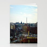 Washington DC Rooftops Stationery Cards