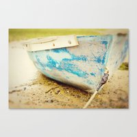cape cod blue Canvas Print
