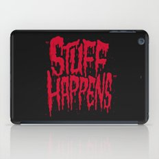 Stuff Happens iPad Case