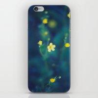 yellow wildflowers iPhone & iPod Skin