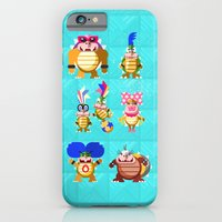 iPhone & iPod Case featuring Koopalings! by Pizza! Pizza! Pizza!