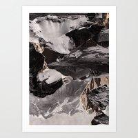 Communication series Art Print
