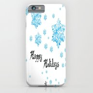Snow Falling At Christma… iPhone 6 Slim Case