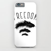 iPhone & iPod Case featuring freedom by eve orea