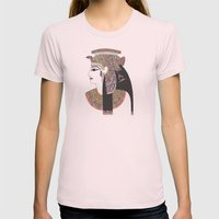 EGYPTIAN GODDESS Womens Fitted Tee Light Pink SMALL