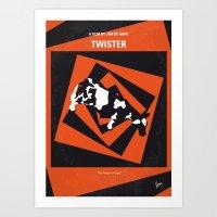 No560 My Twister Minimal… Art Print